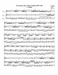 Trio sonata, HWV 385