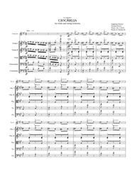 CIOCÂRLIA (La Alondra / The Skylark) Violin & String Orchestra.