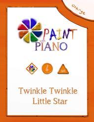 twinkle twinkle little star piano sheet