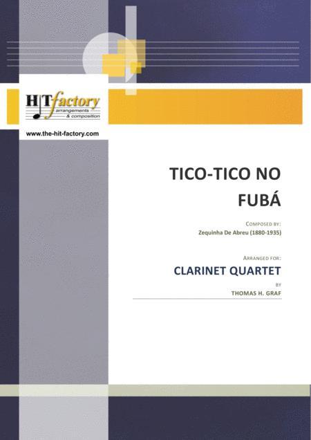 Tico-Tico no Fubá - Choro - Clarinet Quartet