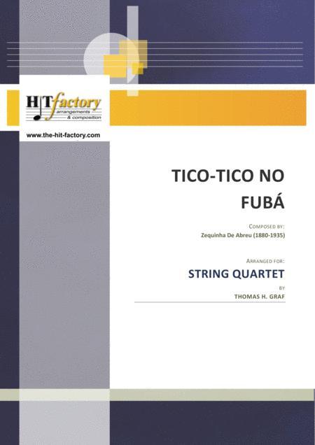 Tico-Tico no Fubá - Choro - String Quartet