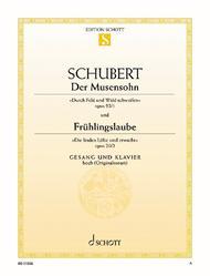Der Musensohn, Op. 92/1 D 764 / Fruhlingsglaube, Op. 20/2 D 686