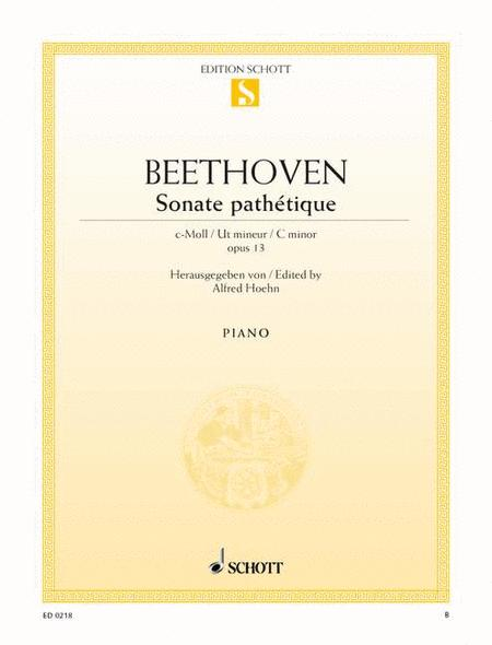 Sonata pathetique C minor, Op. 13