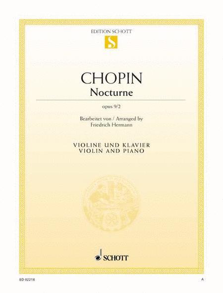 Nocturne D major, Op. 9/2