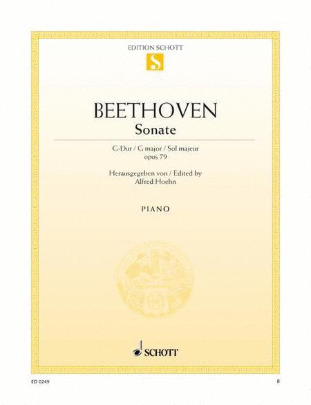 Sonata G major, Op. 79