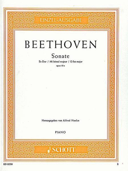 Sonata E-flat major, Op. 81a