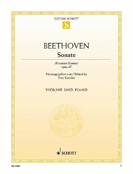 Sonata A major, Op. 47