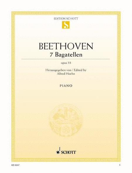 BEETHOVEN: Eroica Variations / Bagatelles, Op. 33 / Variations, Op. 34 (Schnabel) (1937-1938)