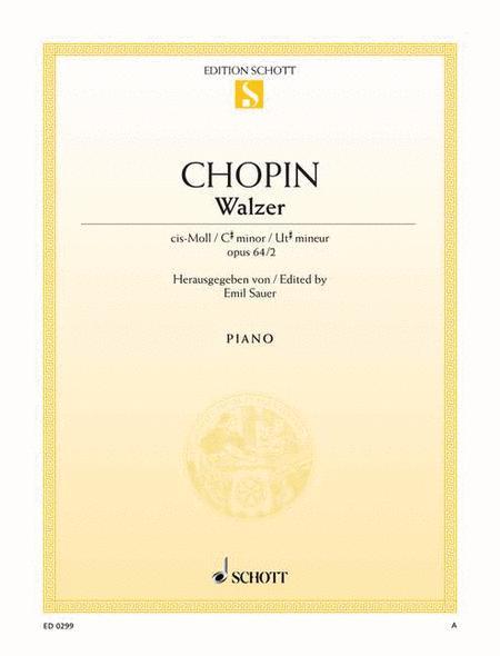Waltz C-sharp minor, Op. 64/2