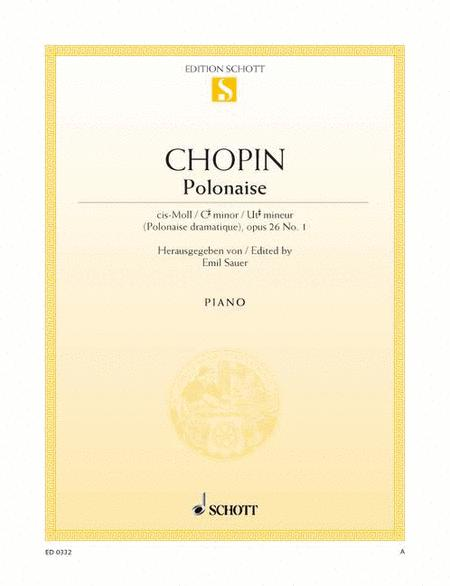 Polonaise C-sharp minor, Op. 26/1