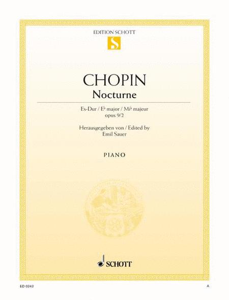 Nocturne E-flat major, Op. 9/2
