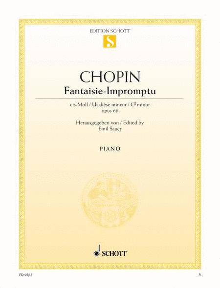 Fantaisie-Impromptu C-sharp minor, Op. 66 (posth.)