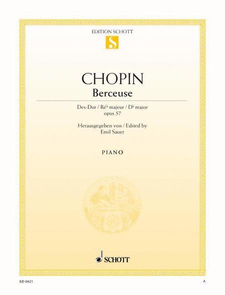 Berceuse D-flat major, Op. 57
