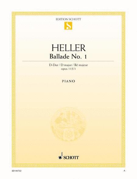 Ballade No. 1 D major, Op. 115