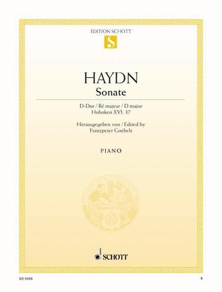 Sonata D major, Hob. XVI:37