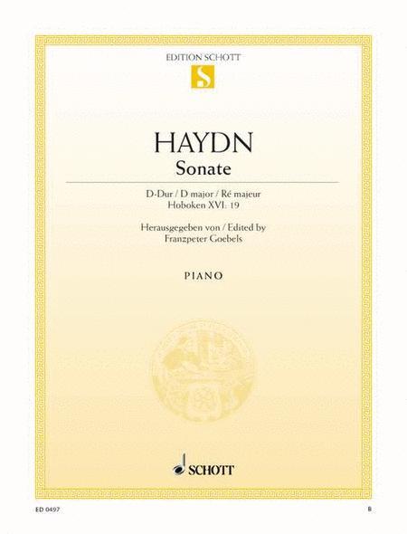 Sonata D major, Hob. XVI:19