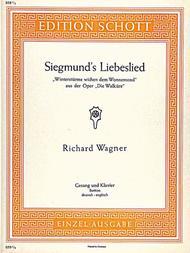 Wintersturme wichen dem Wonnemond (Siegmund's Liebeslied)