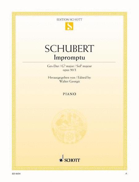 Impromptu, Op. 90 D 899 No. 3