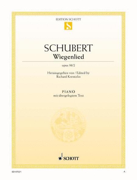 Wiegenlied, Op. 98/2 D 498