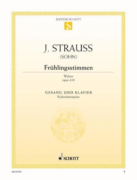 Fruhlingsstimmen, Op. 410
