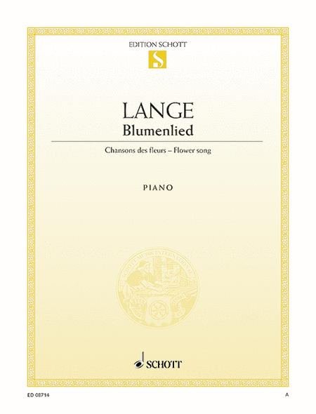 Flower Song, Op. 39