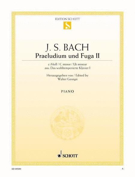 Prelude II and Fugue II C minor, BWV 847