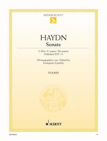 Sonata C major, Hob. XVI:15
