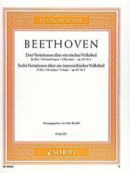 Three Variations on an Irish Folk Song E-flat major / Six Variations on an Austrian Folk Song C major
