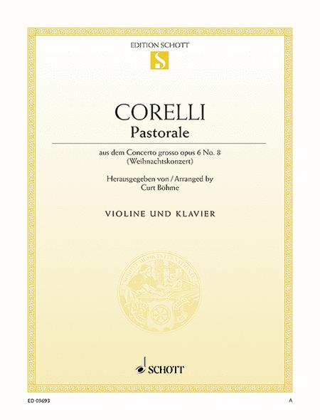 Pastorale G major, Op. 6/8