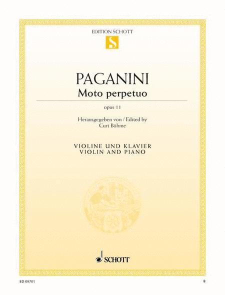 Moto perpetuo, Op. 11