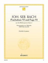 Prelude VI and Fugue VI D minor, BWV 851