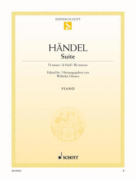 Suite D minor, HWV 437 (HHA II/4 - Walsh 1733 No. 4)