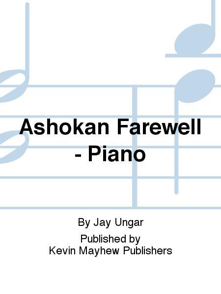 Ashokan Farewell Piano Sheet Music By Jay Ungar Sheet Music Plus