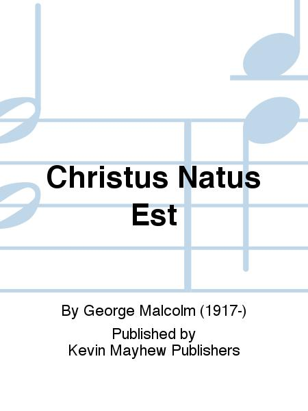 Christus Natus Est