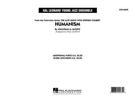Humanism - Conductor Score (Full Score)