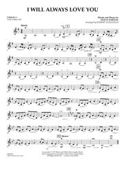 I Will Always Love You - Violin 3 (Viola T.C.)