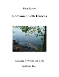 Romanian Folk Dances (Violin and Cello)