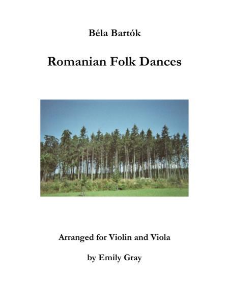 Romanian Folk Dances (Violin and Viola)