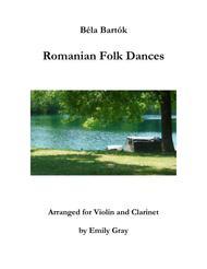 Romanian Folk Dances (Violin and Clarinet)