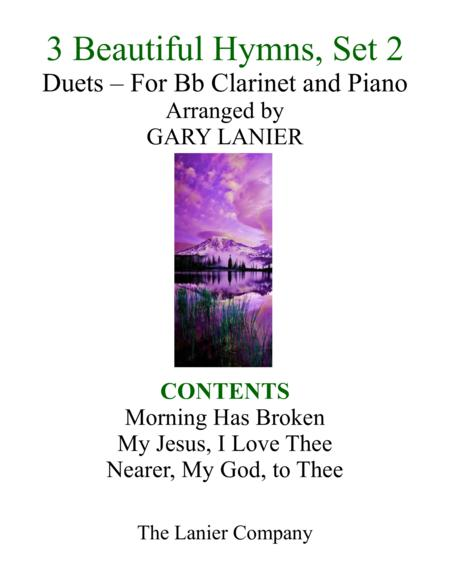 Gary Lanier: 3 BEAUTIFUL HYMNS, Set 2 (Duets for Bb Clarinet & Piano)