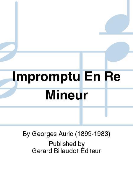 Impromptu En Re Mineur