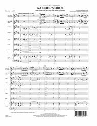 Gabriel's Oboe (from The Mission) - Full Score