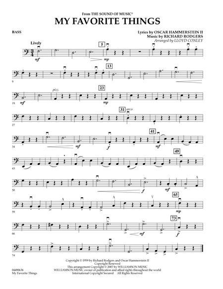 My Favorite Things - String Bass