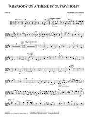 Rhapsody On A Theme by Gustav Holst - Viola