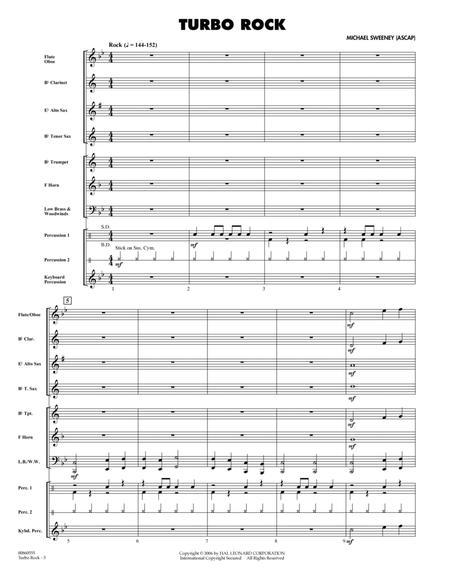 Turbo Rock - Full Score