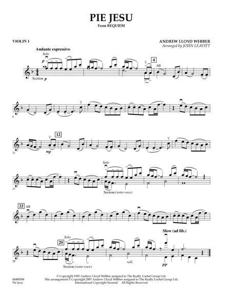 Pie Jesu (from Requiem) - Violin 1