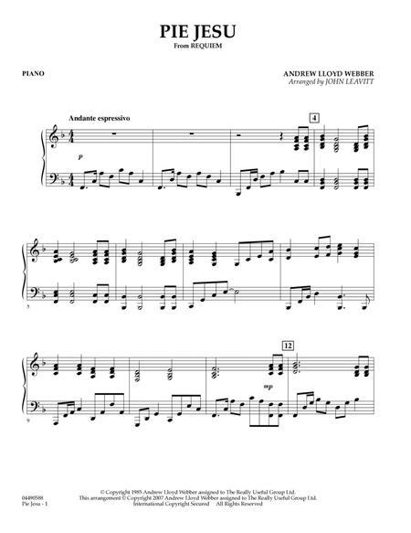 Pie Jesu (from Requiem) - Piano