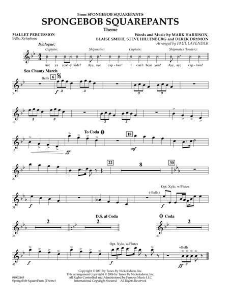 Spongebob Squarepants  (Flex-Band) - Mallet Percussion