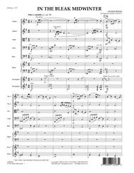 In the Bleak Midwinter - Full Score
