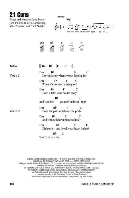 Preview 21 Guns By Green Day Hx320342 Sheet Music Plus
